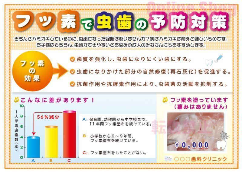 画像1: フッ素予防ポスター B (1)